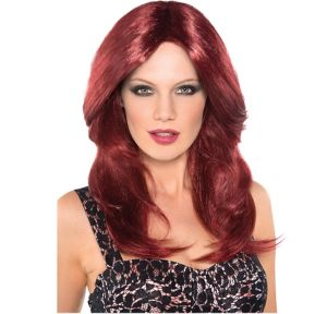 Red Hot Auburn Wig
