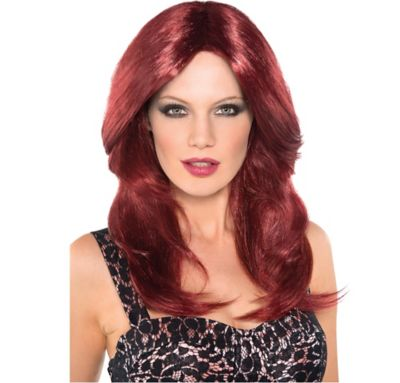 Red Hot Auburn Wig