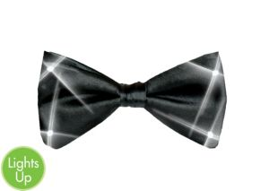 Black Light-Up Bowtie