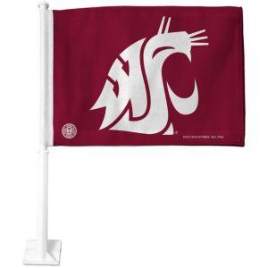 Washington State Cougars Car Flag