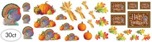 Happy Thanksgiving Cutouts 30ct