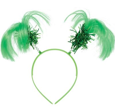 Green Ponytail Headband
