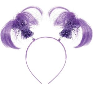 Purple Ponytail Head Bopper