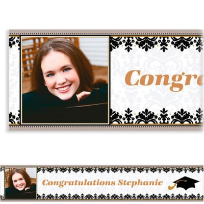 Black & White Custom Photo Banner