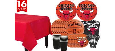 Chicago Bulls Basic Party Kit