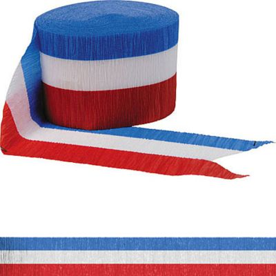 Red, White & Blue Streamer