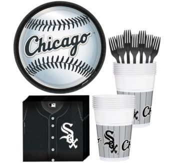Chicago White Sox Basic Party Kit for 16 Guests