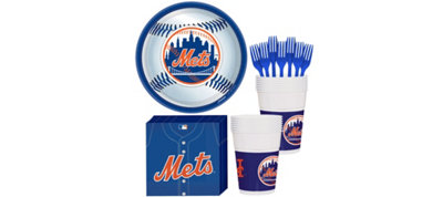 New York Mets Basic Party Kit for 16 Guests