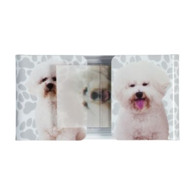 Bichon Frise Flag Page Markers 72pc