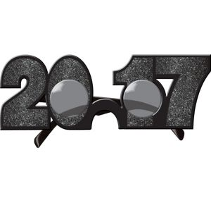 Glitter Black 2017 Glasses