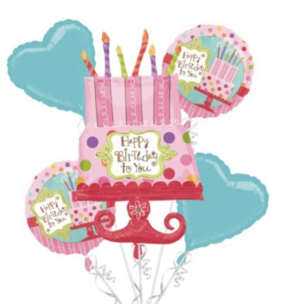 Balloon Bouquet 5pc - Sweet Stuff