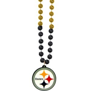 Pittsburgh Steelers Pendant Bead Necklace