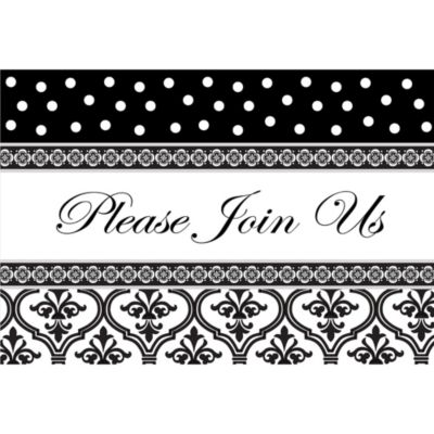 Special Day Horizontal Invitations 8ct
