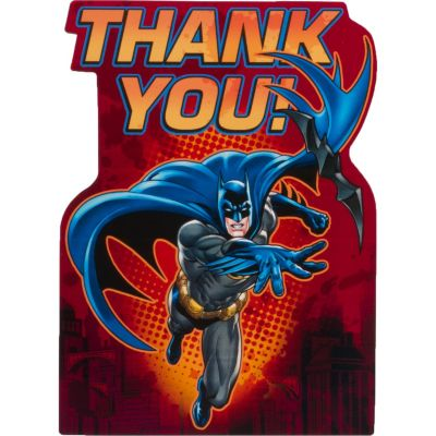 The Batman Thank You Notes 8ct