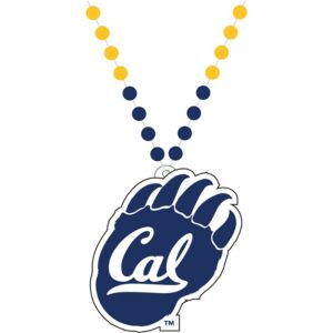 Cal Bears Pendant Bead Necklace