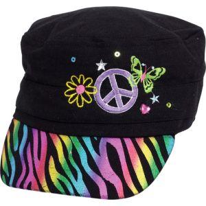 Neon Doodle Hat
