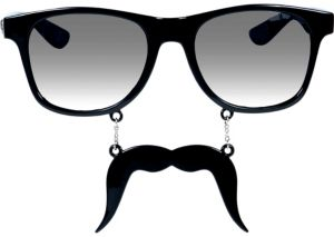 Black Fu Manchu Sun-Staches