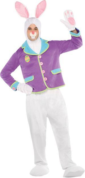 Adult Purple Bunny Costume