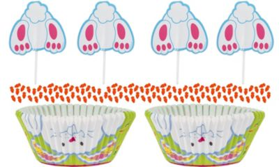 Bunny Cupcake Combo Pack for 24