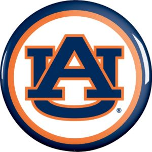 Auburn Tigers Button