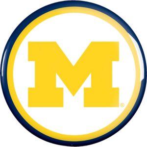 Michigan Wolverines Button