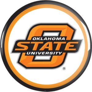 Oklahoma State Cowboys Button