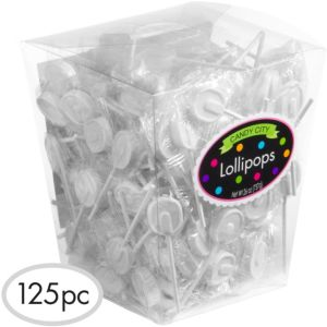 White Lollipops 125pc