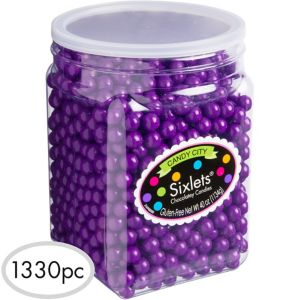Purple Chocolate Sixlets 1330pc