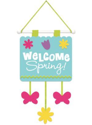 Spring Fabric Door Hanger