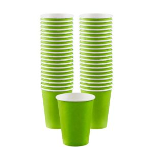 BOGO Kiwi Paper Coffee Cups 12oz 40ct