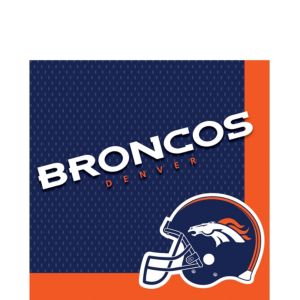 Denver Broncos Lunch Napkins 36ct