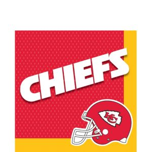 Kansas City Chiefs Lunch Napkins 36ct