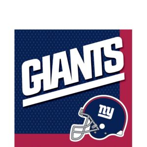 New York Giants Lunch Napkins 36ct