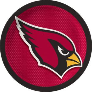Arizona Cardinals Lunch Plates 18ct