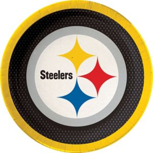 Pittsburgh Steelers Lunch Plates 18ct