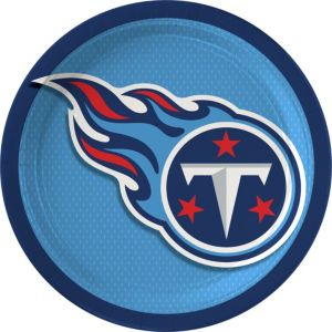 Tennessee Titans Lunch Plates 18ct