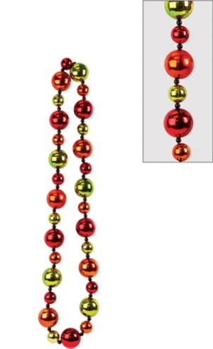 Jumbo Fiesta Bead Necklace
