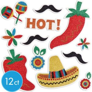 Fiesta Glitter Body Jewelry 12ct