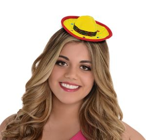 Fiesta Mini Sombrero Headband