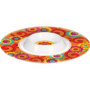 Fiesta Caliente Chip & Dip Tray