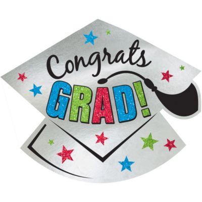 Glitter Graduation Cutout