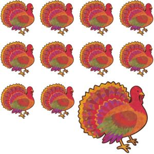 Thanksgiving Turkey Cutouts 12ct