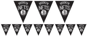 Brooklyn Nets Pennant Banner