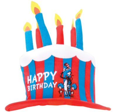 The Cat in the Hat Birthday Cake Hat