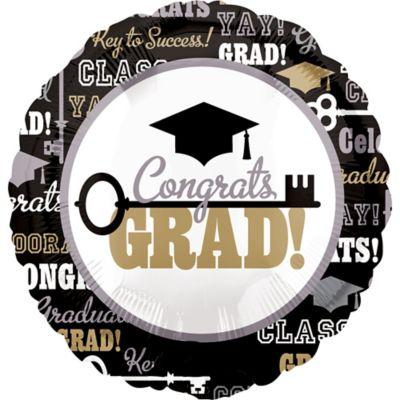Graduation Balloon - Key to Success