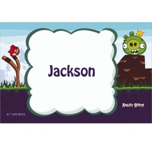 Custom Angry Birds Thank You Notes