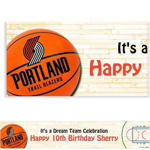 Custom Portland Trail Blazers Banner 6ft