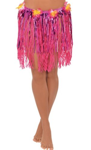 Adult Grass & Tinsel Hula Skirt