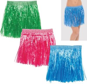 Child Hula Skirts 3ct