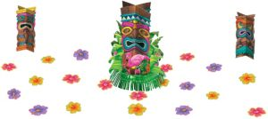 Tiki Fringe Centerpiece Kit 23pc